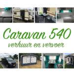 Caravan huren bij caravan 540